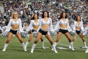 Raiders Cheerleaders jerseys